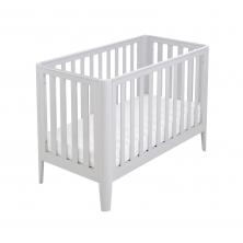 Babymore Iris Cot Bed-Grey
