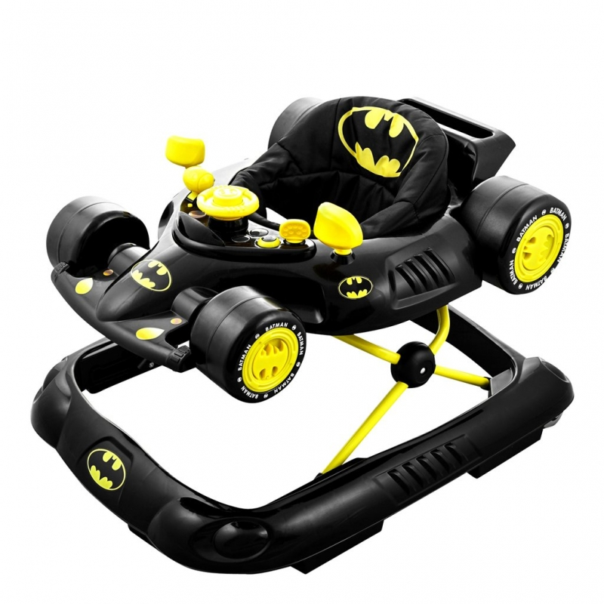 Kids Embrace DC Comics Batmobile Walker