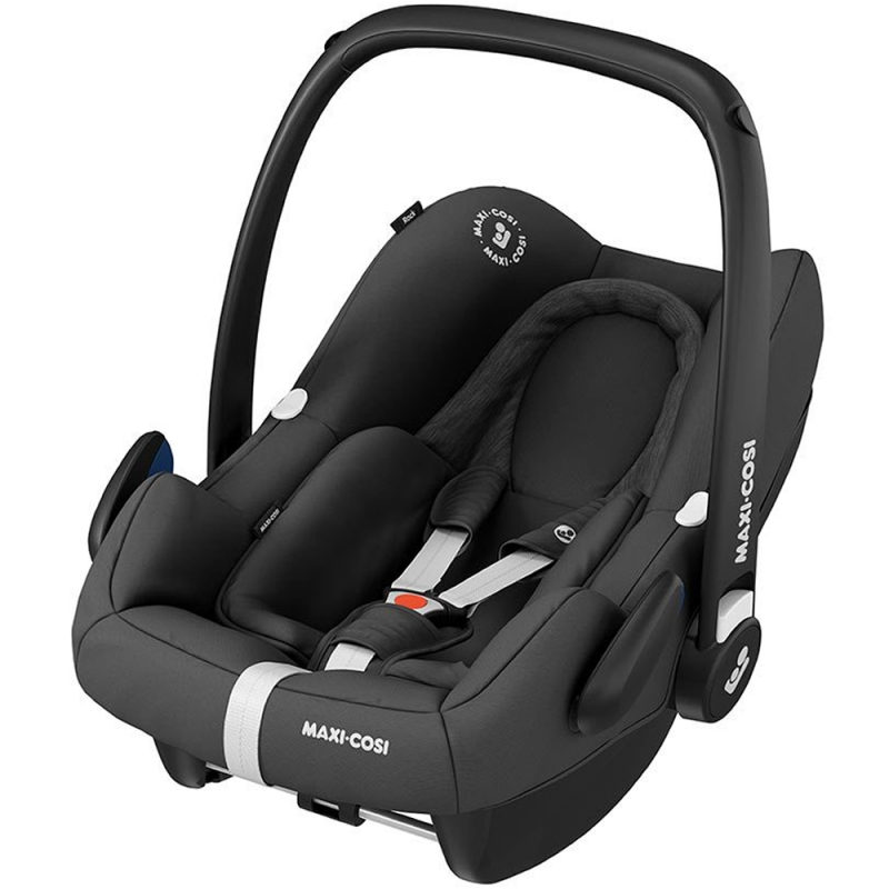 Maxi Cosi Rock I-SIZE Group 0+ Car Seat-Essential Black