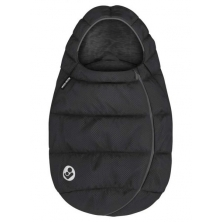 Maxi Cosi Infant Carrier Footmuff- Essential Black (NEW 2020)