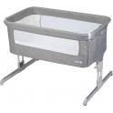 Safety 1st Calidoo Bedside Crib- Warm Grey