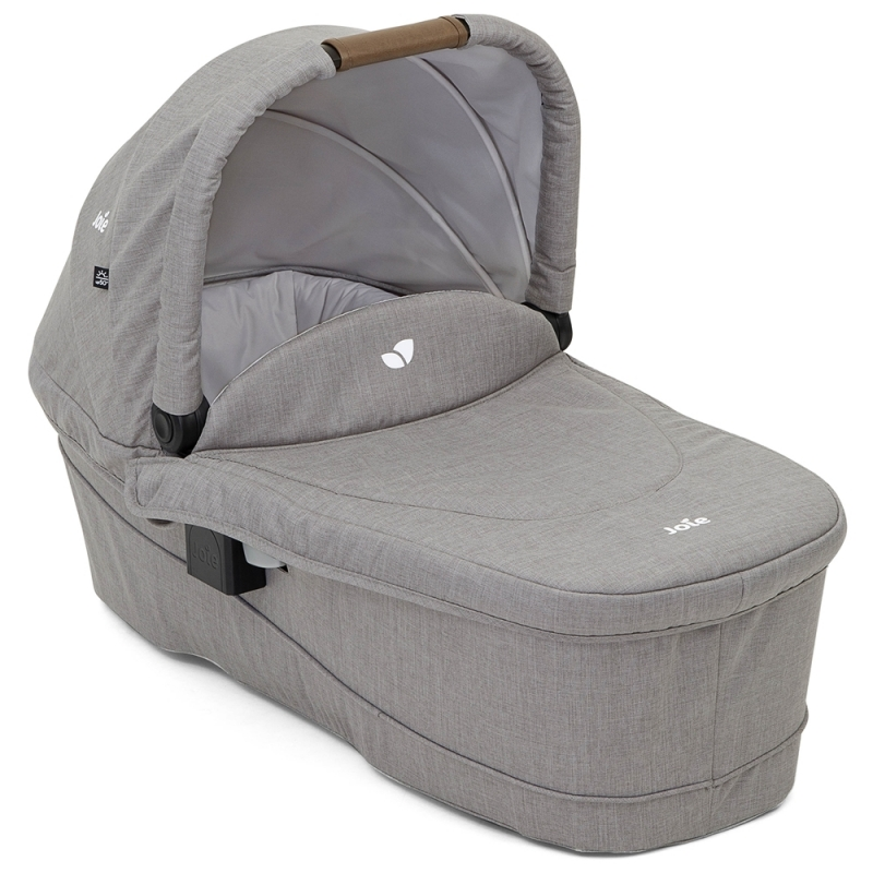 Joie Ramble XL Carrycot-Grey Flannel