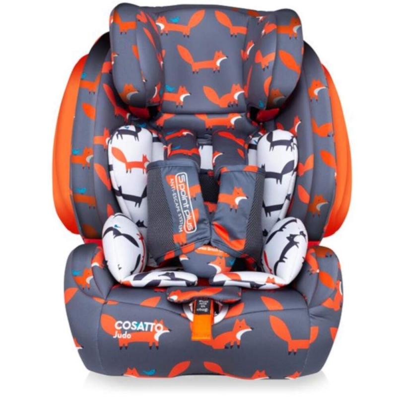 Cosatto Judo Group 1/2/3 Car Seat-Mister Fox