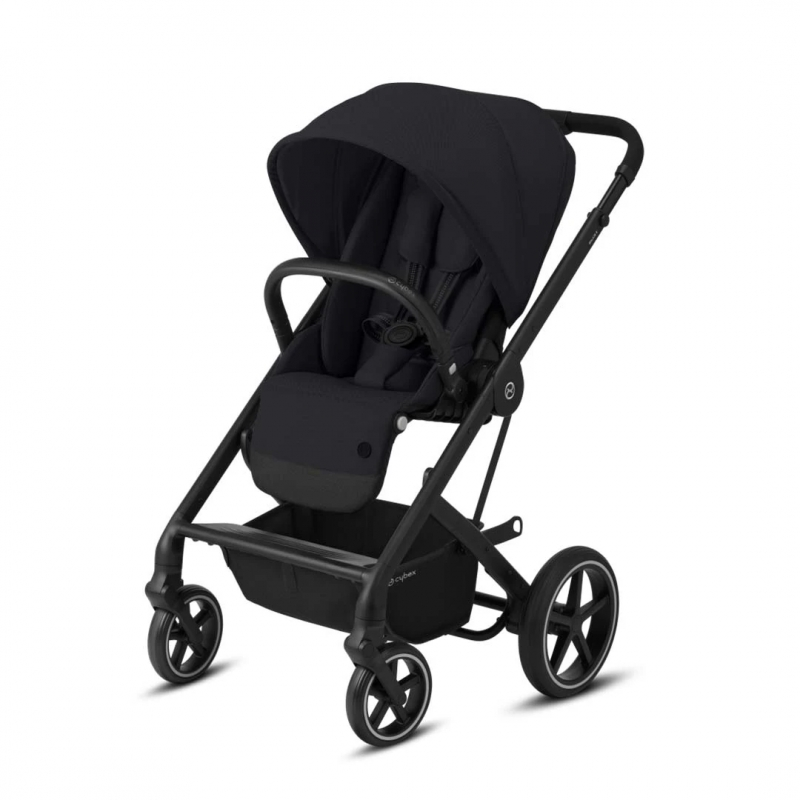 Cybex Balios S Lux Stroller-Deep Black/Black (New 2020)