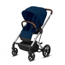 Cybex Balios S Lux Stroller-Navy Blue/Silver (2020)