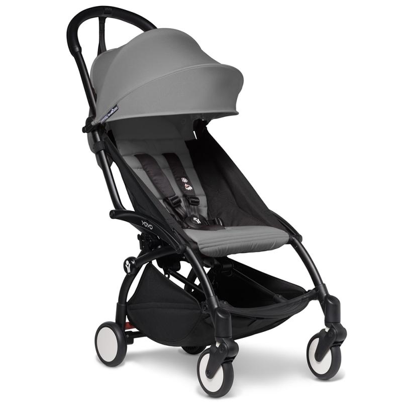 BABYZEN YOYO 2 Black Frame 6+ Stroller-Grey (NEW)