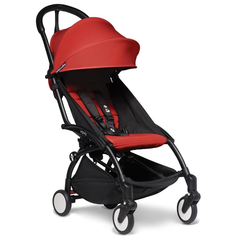 BABYZEN YOYO 2 Black Frame 6+ Stroller-Red (NEW)