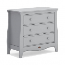 Boori Sleigh 3 Chest Drawer-Pebble (New 2020)