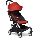 BABYZEN YOYO² White Frame 6+ Stroller-Red (NEW)