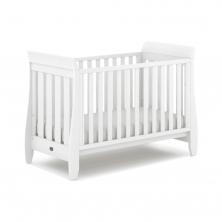 Boori Urbane Sleigh Cot Bed-Barley White (New 2020)
