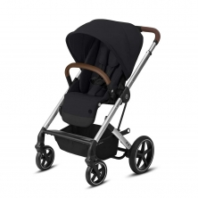 Cybex Balios S Lux Stroller-Deep Black/Silver (2020)