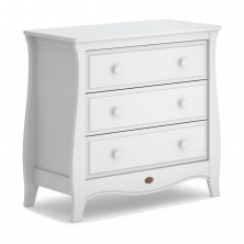 Boori Sleigh 3 Chest Drawer-Barley White (New 2020)