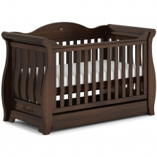 Boori Sleigh Royale Cot Bed-Coffee (New 2020)