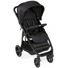 Chicco Multiride Stroller-Jet Black (NEW)