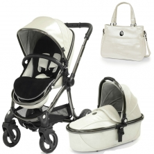 egg® Special Edition 2in1 Pram System With Liner & Changing Bag-Pearl (New 2019)