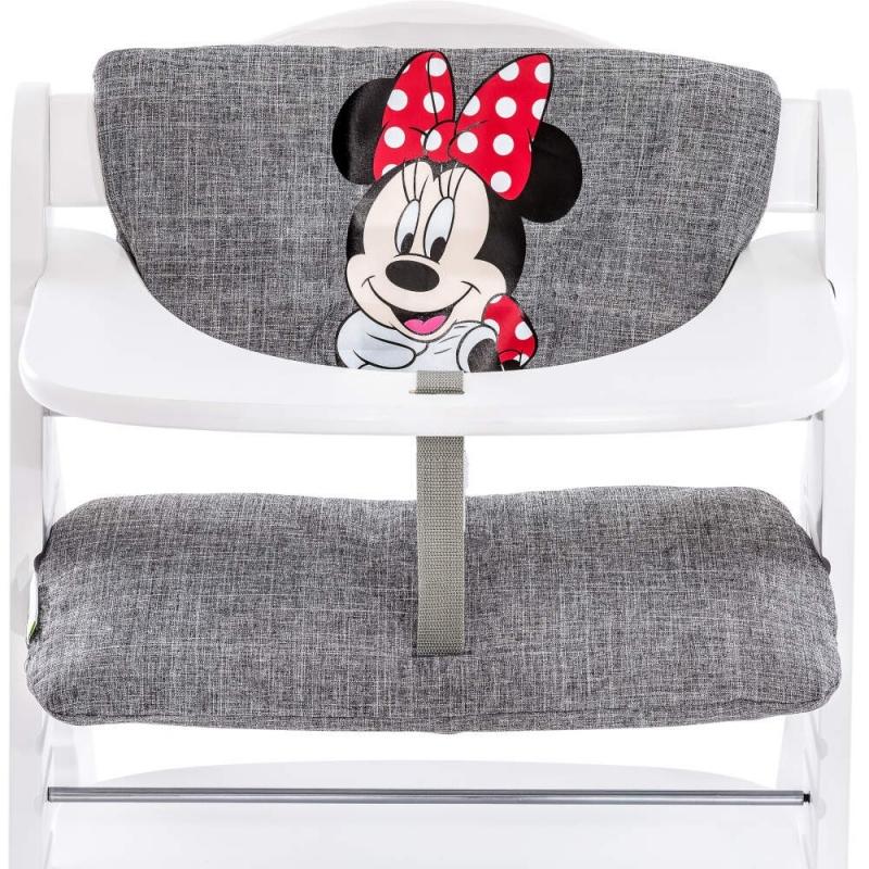 Hauck Disney Alpha Highchair Pad Deluxe-Minnie Grey (2021)