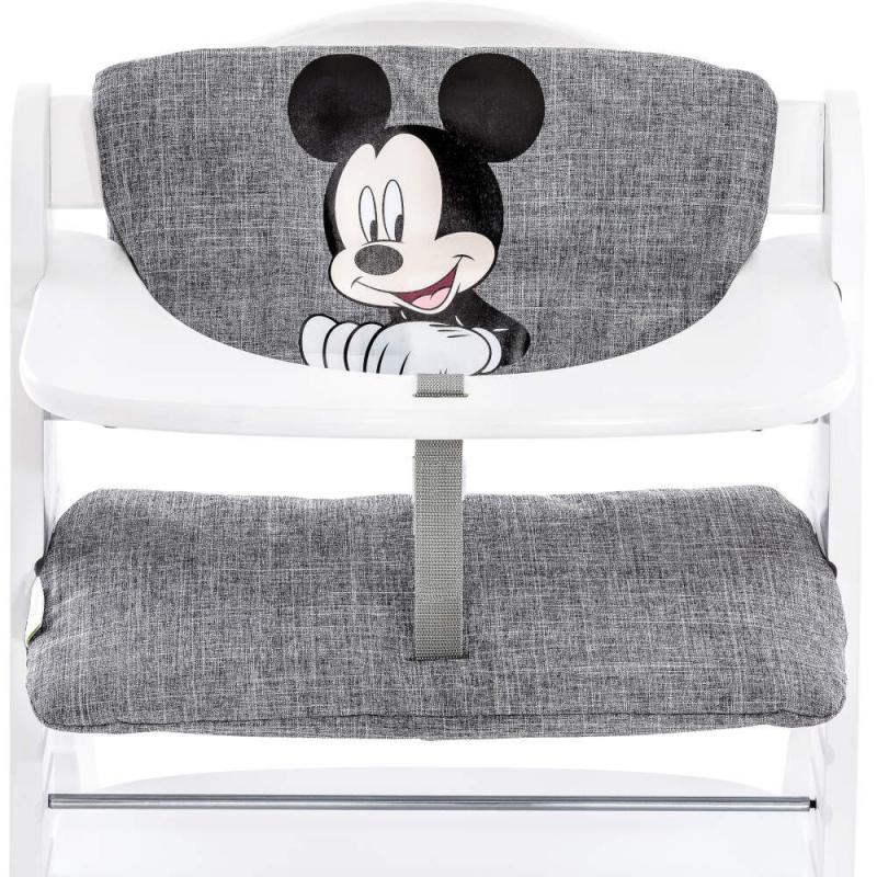 Hauck Disney Alpha Highchair Pad Deluxe-Mickey Grey (2021)