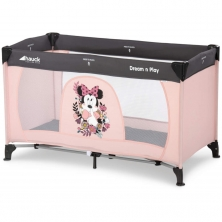 Hauck Disney Dream n Play Travel Cot-Minnie Sweetheart (NEW)