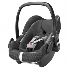 Maxi Cosi Pebble Plus Group 0+ Car Seat-Black Crystal (NEW 2019)