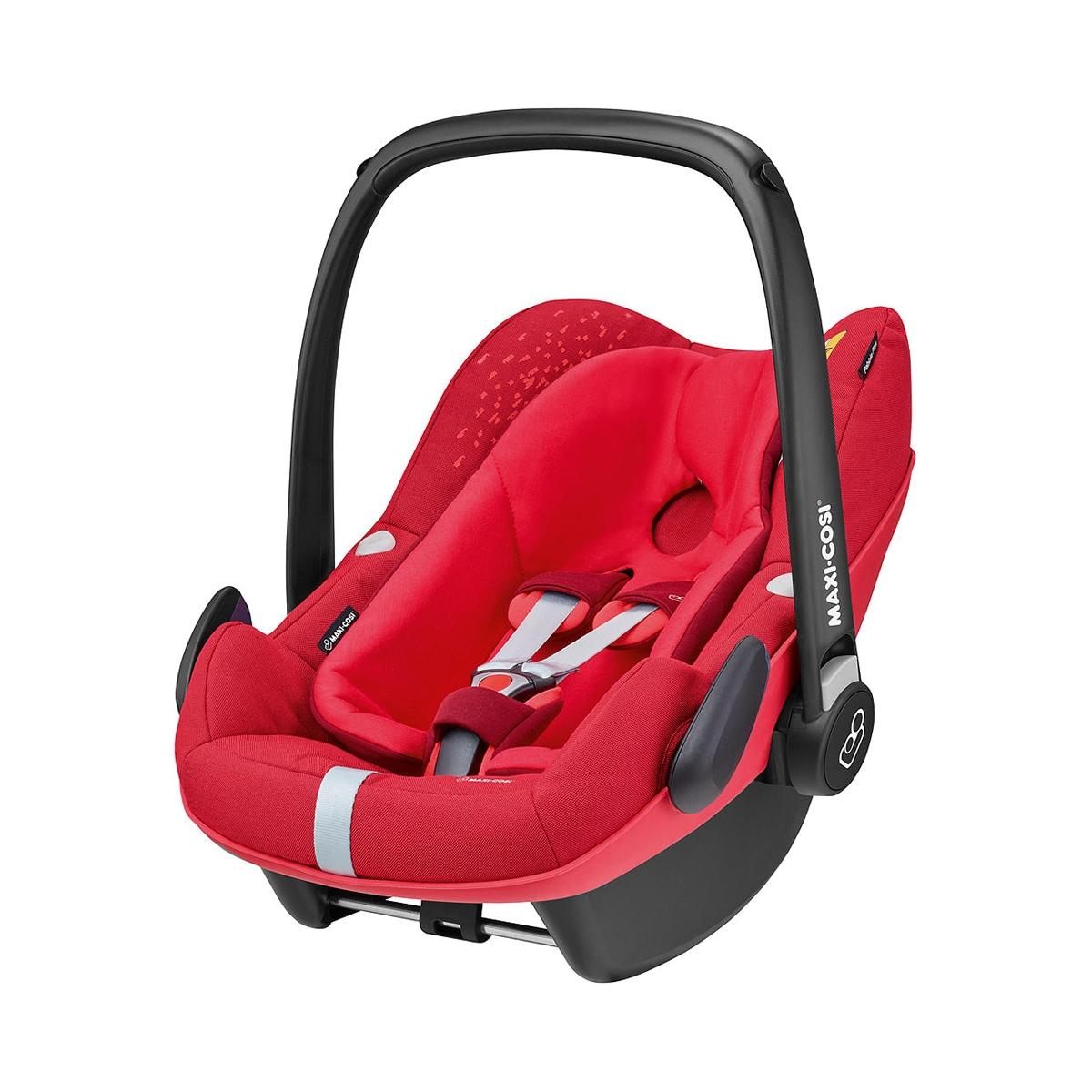 Maxi Cosi Pebble Plus Group 0+ Car Seat-Vivid Red (NEW 2019)
