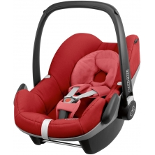 Maxi Cosi Pebble Group 0+ Car Seat-Red Rumour