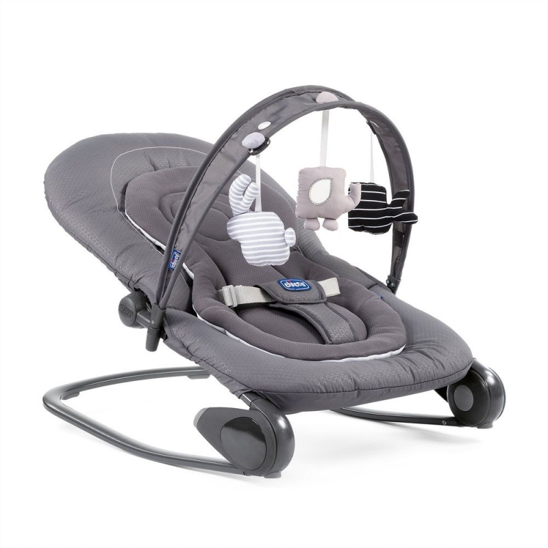 Chicco Hoopla Bouncer-Moon Grey (NEW)