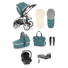 egg Luxury 3in1 Shell Travel System with ISOFIX Base-Cool Mist (NEW)