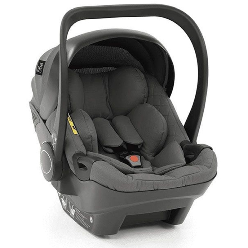egg Shell i-Size Car Seat-Anthracite
