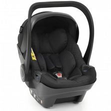 egg Shell i-Size Car Seat-Just Black