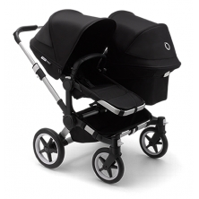 Bugaboo Donkey 3 Duo Pushchair-Aluminium/Black