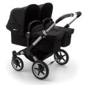 Bugaboo Donkey 3 Twin Pushchair-Aluminium/Black