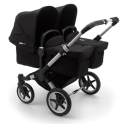 Bugaboo Donkey 3 Twin Pushchair-Black/Aluminium