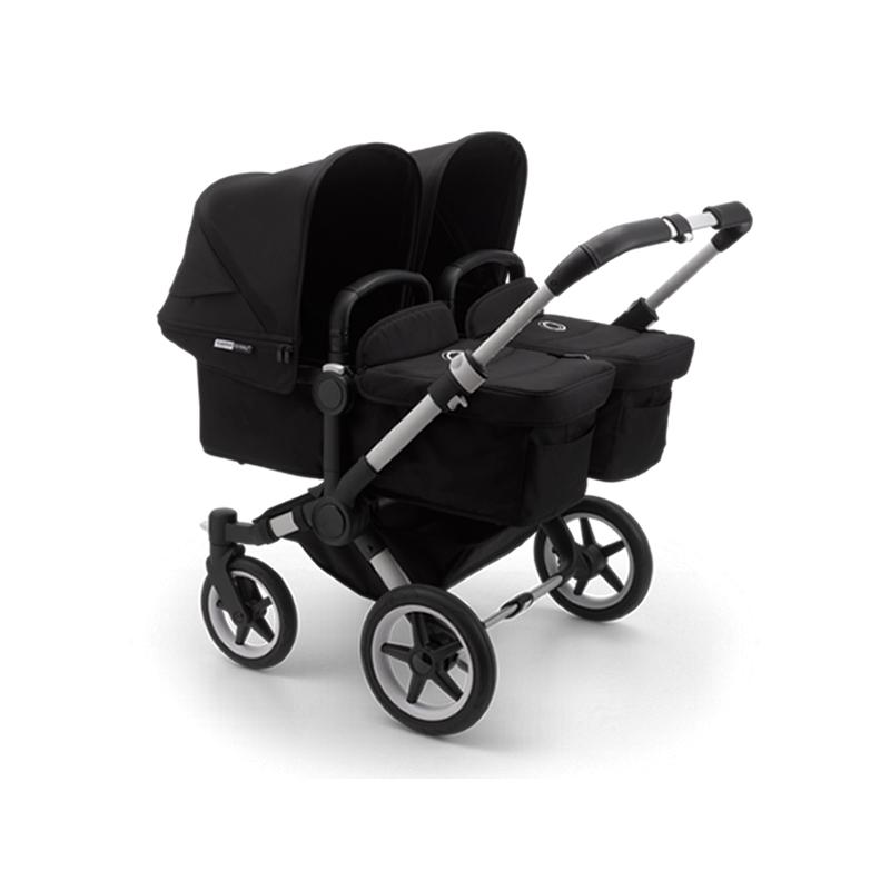 Bugaboo Donkey3 Twin Pushchair-Black/Aluminium