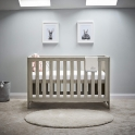 OBaby Nika Cot Bed-Grey Wash