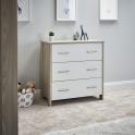 Obaby Nika Changing Unit-Grey Wash and White