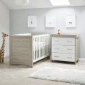 Obaby Nika 2 Piece Room Set-Grey Wash & White