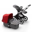 Bugaboo Fox2 Complete Pushchair-Grey Melange/Aluminium-Black-Soft Pink