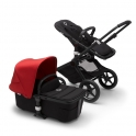 Bugaboo Fox2 Complete-Black/Black-Soft Pink