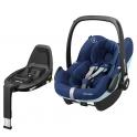 Maxi Cosi Pebble Pro Group 0+ Car Seat With FamilyFix3 Base-Nomad Grey