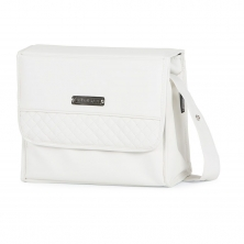 Bebecar Special Carre Changing Bag-White Delight (NEW)