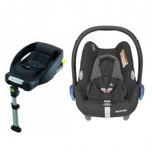 Maxi Cosi Cabriofix Group 0+ Car Seat With Easyfix Base-Essential Black (NEW 2020)