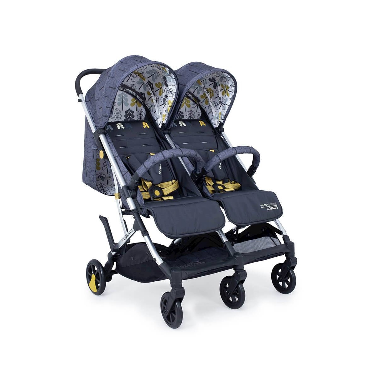 Cosatto Woosh Double Stroller-Fika Forest (NEW)