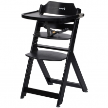 Safety 1st Timba Wooden Highchair-Deep Black (NEW 2019)