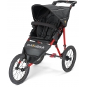 Out n About Nipper SPORT -Black Raven with Red Frame