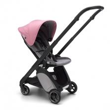 Bugaboo Ant Stroller-Grey Melange/Black-Soft Pink