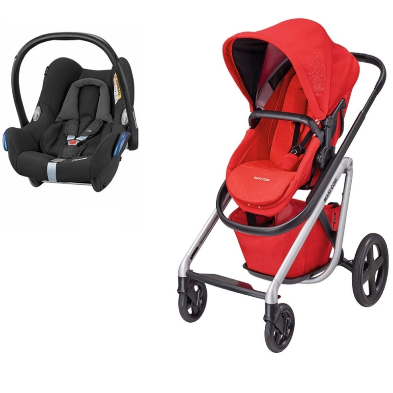 Maxi Cosi Lila 2in1 Travel System-Nomad Red (NEW 2019)