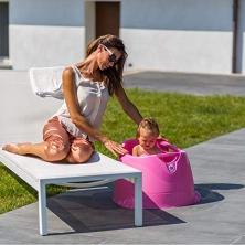 OK BABY Opla Padding Pool Bath - WHITE