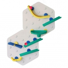 Oribel VertiPlay STEM Wall Toys Marble Run-Crayon Edition