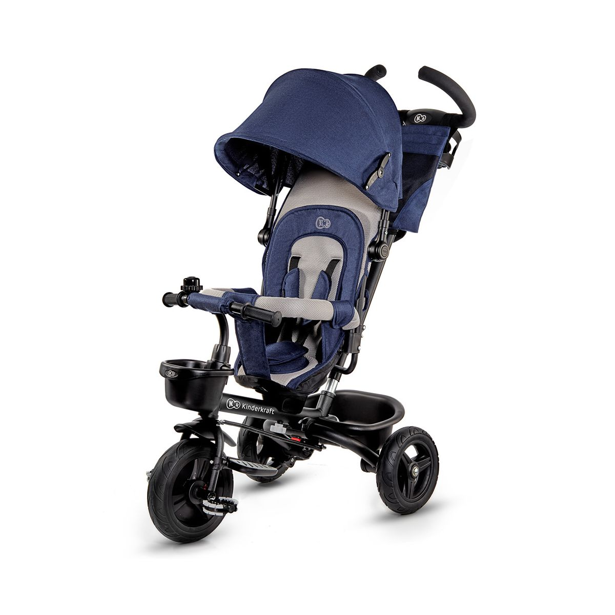 Kinderkraft Aveo Tricycle-Navy (Exclusive to Kiddies Kingdom)