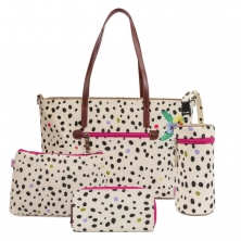 Pink Lining Notting Hill Tote Bundle-Dalmatian Fever